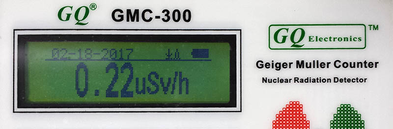 GQ GMC-300 Digital Geiger Muller Counter